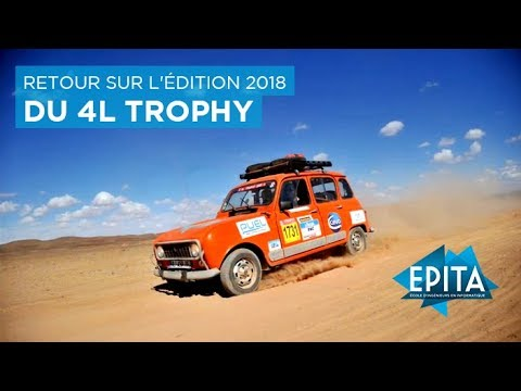 Retour sur l'édition 2018 du 4L Trophy avec l'équipage EPITA