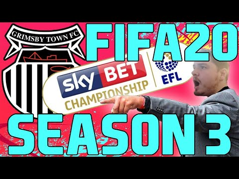 FIFA 20 Career Mode Livestream Season 3 - Grimsby Town FC