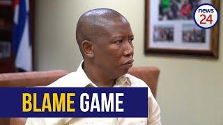 WATCH   DA to blame for handing Joburg back to corruption - Julius Malema