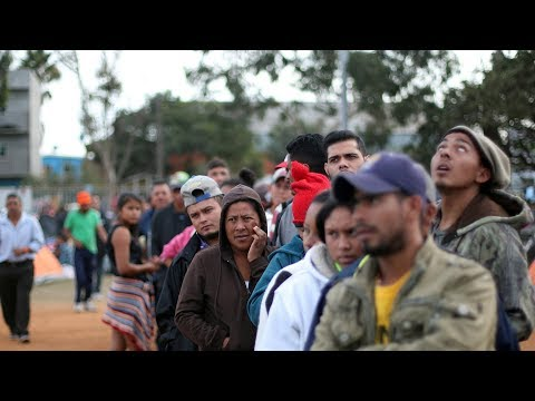 Central Americans not welcome on either side of US-Mexico border