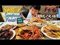 Eating WHOLE ASIAN KING CRAB! SPICY Asian Seafood Feast in New York