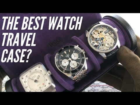 The Best Watch Travel Case? Wolf Blake Watch Roll Review