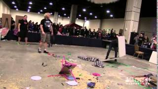 Table Flipping For Charity (child's Play) @ Magfest 13
