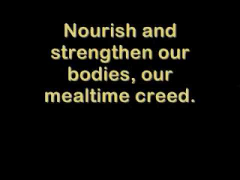 Nourish and Strengthen by Everclean/Sons of Provo - Lyrics