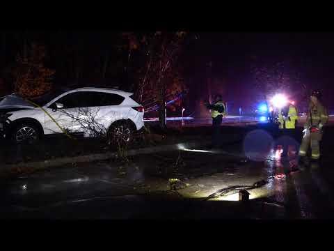 MVA, SUV into utility pole, Concord, N.H. 10/17/20
