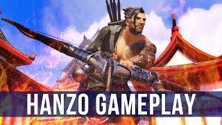 Overwatch: Marked By The Dragon! (Hanzo Gameplay)