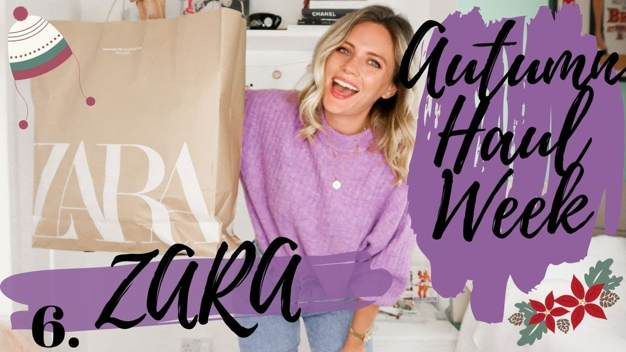 [VIDEO] - AUTUMN HAUL WEEK 2019 || ZARA HAUL  || DAY 6 || Jessica Chelsea 1