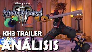 Kingdom Hearts 3 Trailer 2017 - Análisis y detalles ocultos (Español)