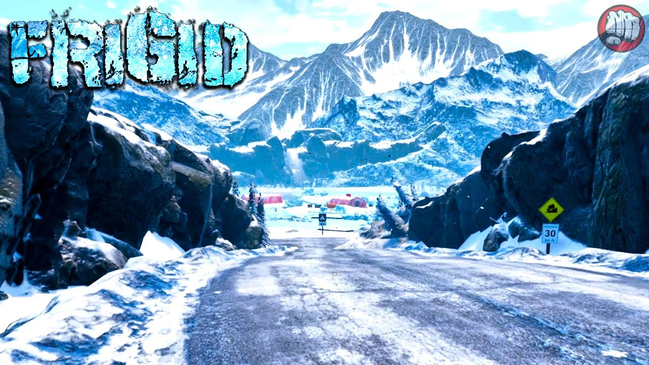 New First Look Post-Apocalyptic Winter Survival   Frigid Gameplay