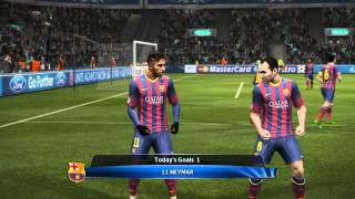 pes 2013 pc gameplay with patch 5.1 and other mods. watch in 720p or 1080p