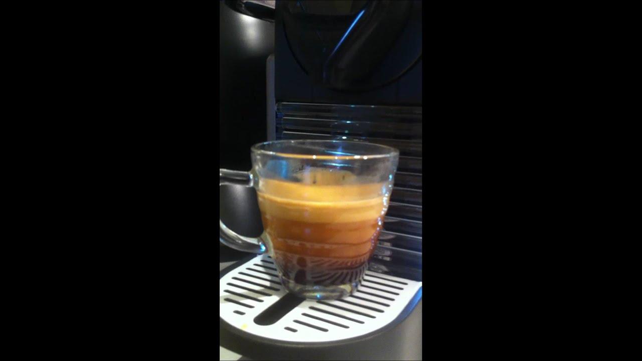 Nespresso Pixie Test - YouTube