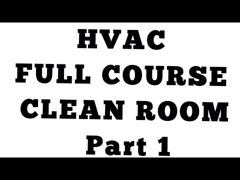 Clean Room part 1 ll HVAC Questions and Answers