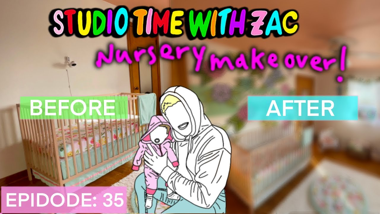 I Painted My Daughter's Nursery - Studio Time With ZAC #035
