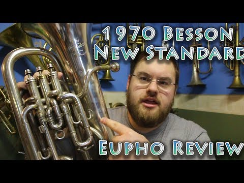 1970 Besson New Standard Compensating Euphonium Review