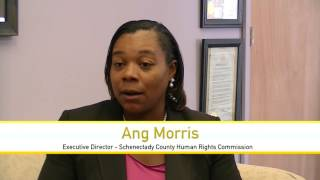 Scene TV: Guest - Ang Morris of Schenectady Human Rights Commission #SCENETV