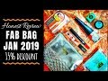 Fab Bag January 2019 | 15% Discount | Honest Review | Sugar Product with Choice