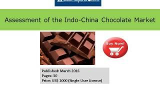 Indo China Chocolate Market Analysis - MarketReportsOnline