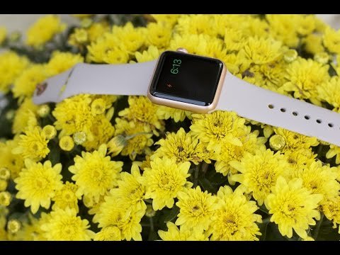 Apple Watch Sport Rose Gold 2015 Review