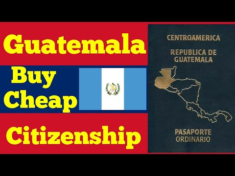 Buy Guatemala cheap Cityzenship Program.