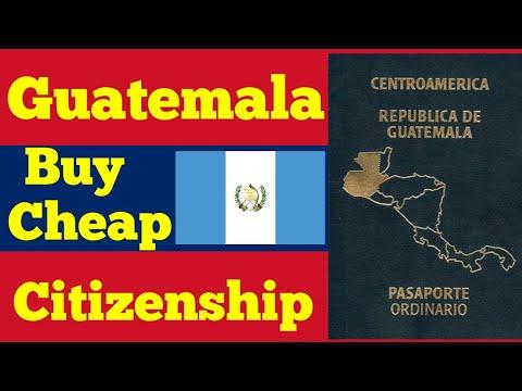 Buy Guatemala cheap Cityzenship Program.