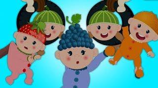 dieci nel letto | Numeri canzone 1 a 10 | Rime per i bambini | Ten In The Bed Rhyme In Italian
