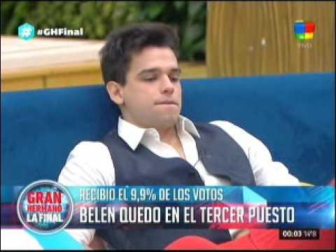 """Belén se convirtió en la tercera finalista de """"Gran Hermano 2015"""""""