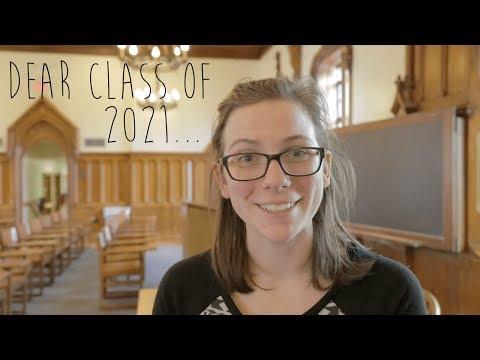 Kenyon College: Dear Class of 2021