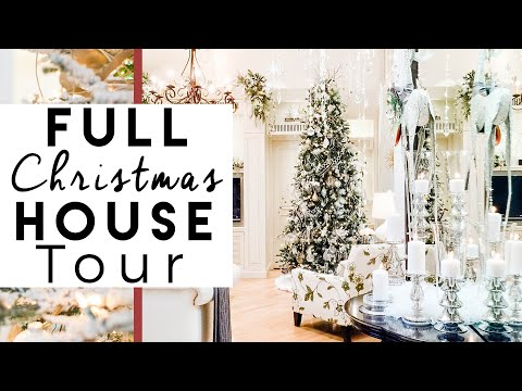 Christmas Decorations Home Tour | Christmas at The Robeson's