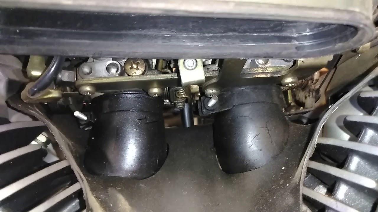 Yamaha vstar 650   Carb n intake boot rebuild (3)