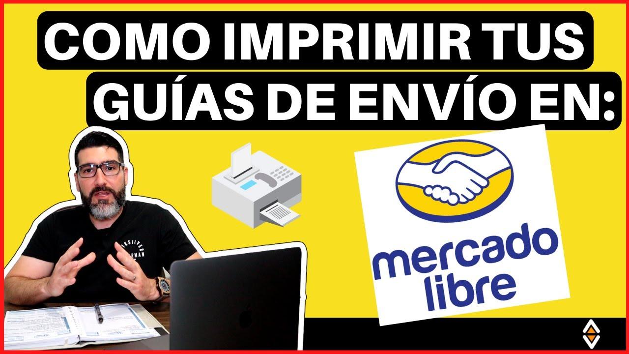🚚 Como IMPRIMIR GUÍAS & ENVIAR PRODUCTOS en Mercado Libre ⚡ [Enviar Productos al Cliente] #TemoValle