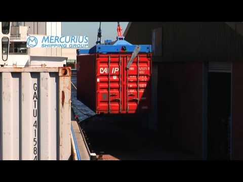 Mercurius Crane Barge