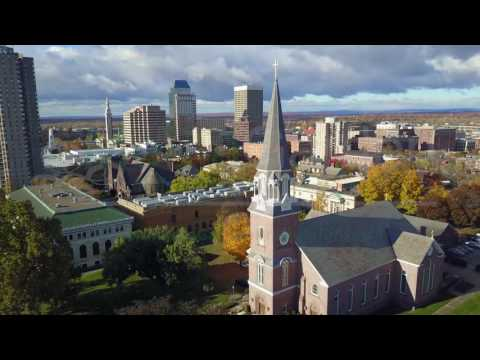 Springfield Mass   Drone shots   MediaGardenProductions.com