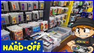 HARD OFF Retro Game Hunting in Japan (Omiya, Saitama)