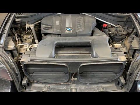 Как сделать замену масла в двигателе на BMW X6 E71 3.0d Xdrive