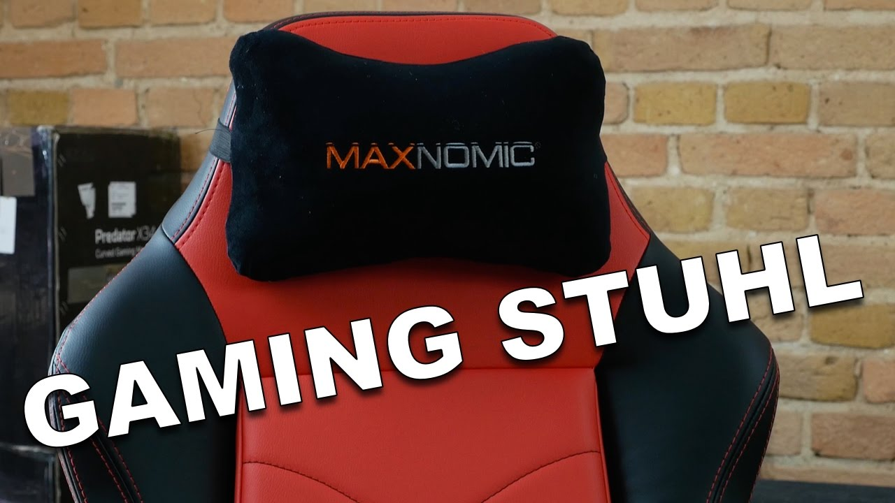MAXNOMIC DOMINATOR Der Beste Gaming Stuhl