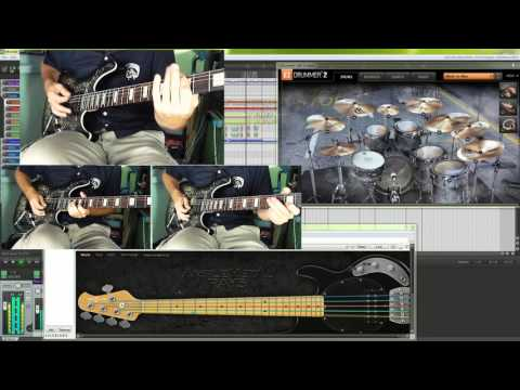 Skillet - Monster (instrumental cover by bilonic)
