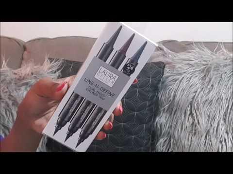 Laura Geller Line N Define Dual Eyeliner|SWATCHES & REVIEW