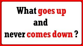 What goes up and never comes down? - MS Mines