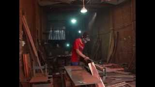 Illegal Siamese Rosewood logging and smuggling in Thailand