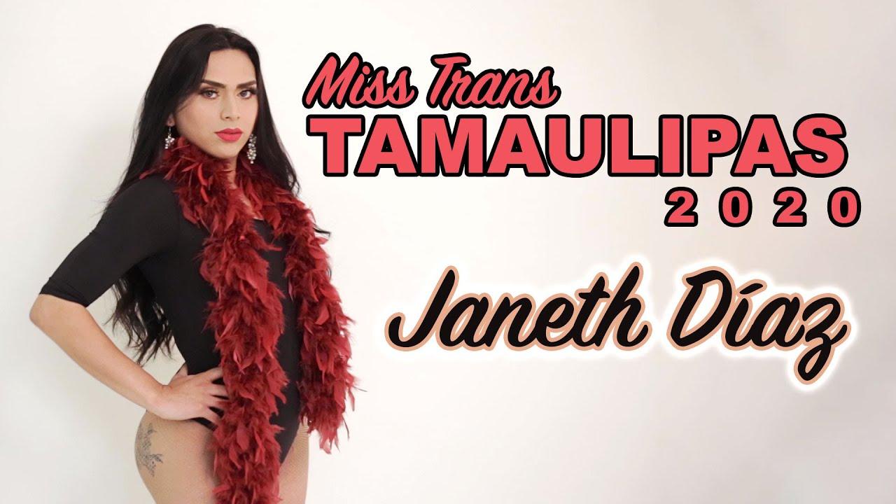 MISS TRANS TAMAULIPAS 2020 - JANETH DIAZ