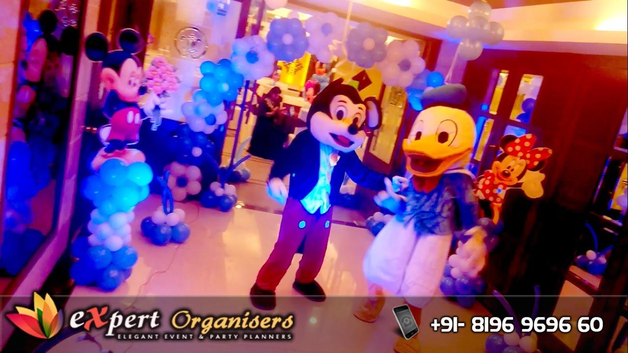 Expert Birthday Planners Decorators Chandigarh Disney Mickey