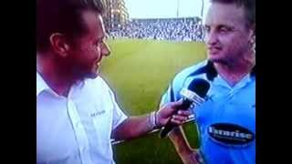 Fastest 100 By Scott Styris (100 From 37 balls 4 fours,9 sixes)