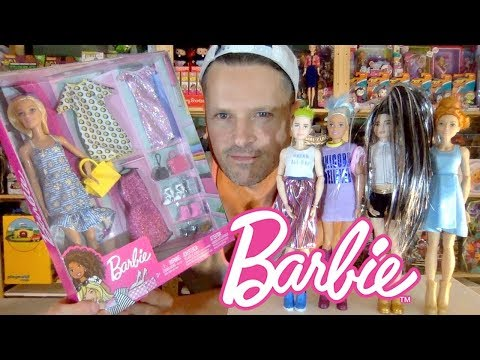 Barbie Fashions & Accessories Pack: Toys R Us Exclusive WWE MTM Doll Fun Unboxing Review