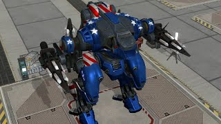 War Robots:- Jesse 4× Aphids_Mini Setup || War Robots 2018