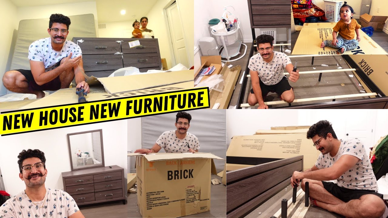 Furniture For Our New House 🏠 Only Mustache ✅ No Beard ❌ Bad Idea ❌ Punjabi Vlogger