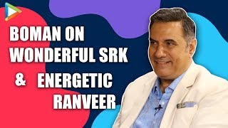 """""""Shah Rukh Khan is TIGER in front of…"""": Boman Irani 