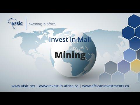 Invest Mali Mining - Mining Companies in Mali - Opportunities in Mali Mining