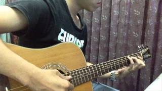 Tears in heaven ( eric clapton) - Solo Guitar Acoustic By Vu Vu