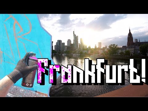 Graffiti hall of fame + Frankfurt Timelapse