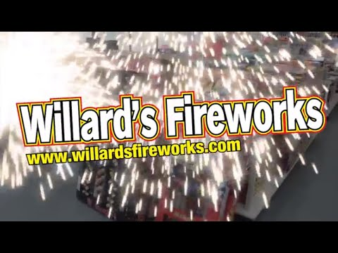 Willard S Fireworks Monster Coupon Book